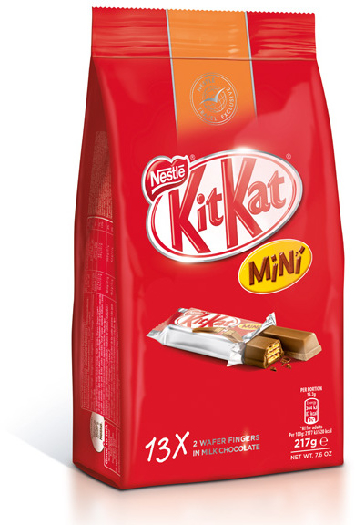KitKat Mini Snack Bag 217g