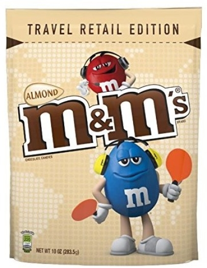 M&M's Almond Pouch 283.5g
