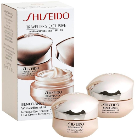 Shiseido Benefiance Anti Wrinkle Eye Cream Duo 2x15ml