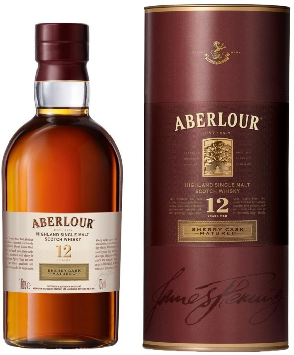 Aberlour 12 year old Sherry Cask Matured 1L