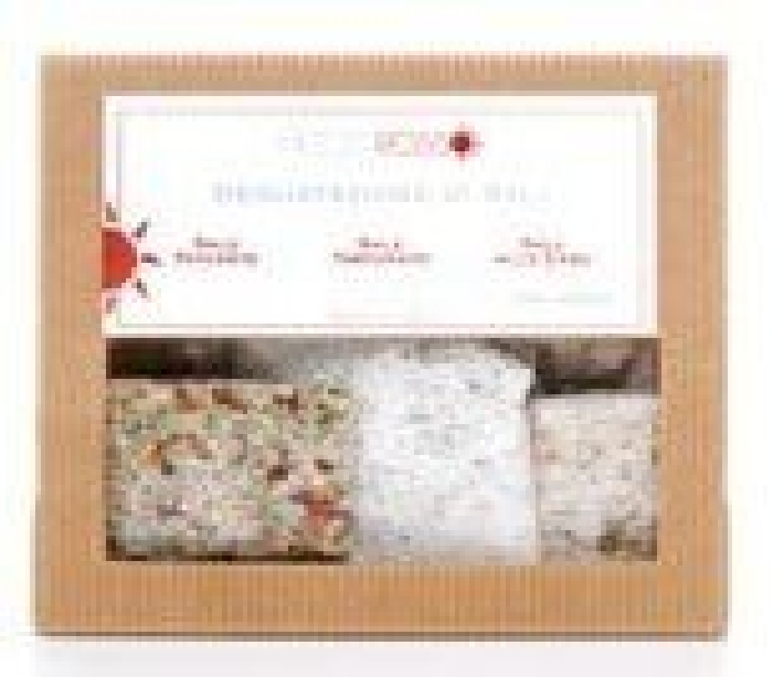 Mezzorosso three taster selection of Gourmet Salts 300g