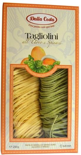 Dalla Costa Tagliolini Pagla Pasta 250g