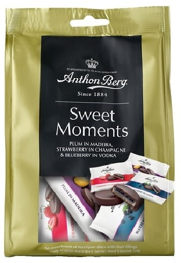 Anthon Berg. Sweet Moments Fruit in Marzipan 165g