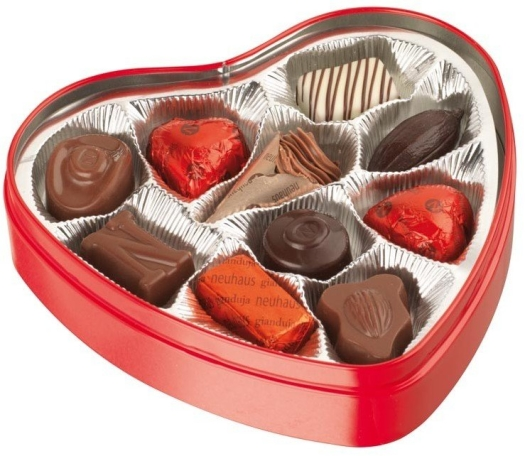Neuhaus Red Heart Can 130g
