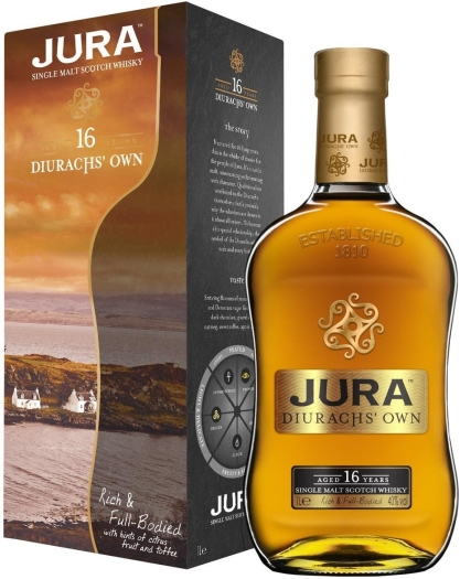 Isle of Jura Durach's Own 16 YO 1L