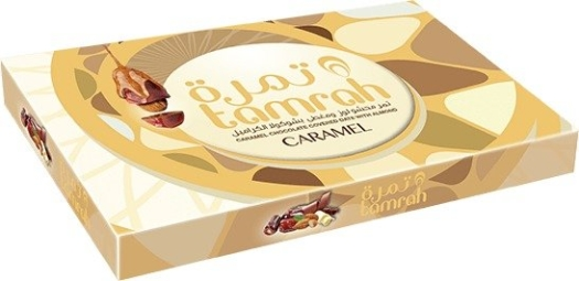 Tamrah Caramel Chocolate Covered Date With Almond 310g
