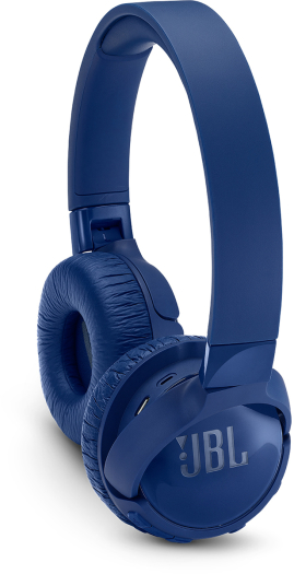 JBL TUNE600BTNC On-Ear Bluetooth Noise Canceling Headphones Blue 173g