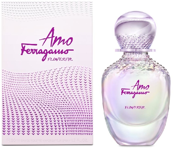 Salvatore Ferragamo Amo Flowerful Flowerful Eau de Toilette 50ML