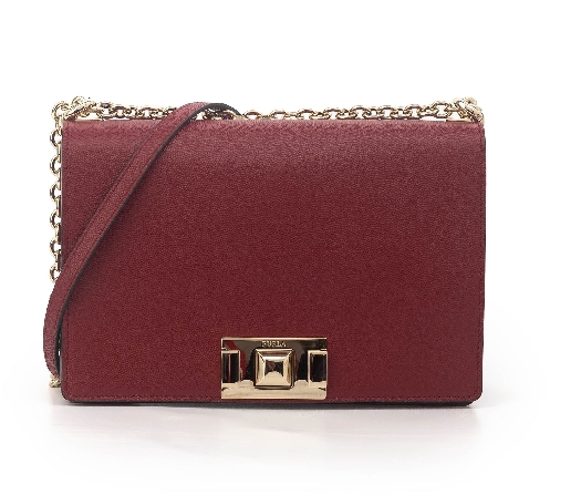 Furla Mimi S Crossbody, Dark red 1026446