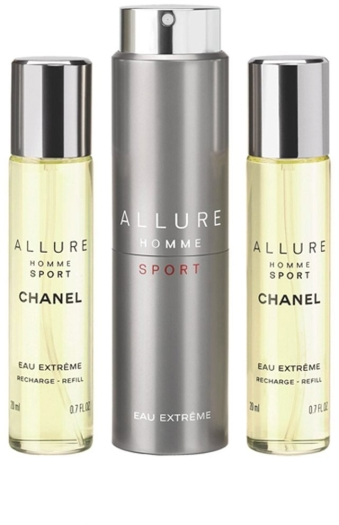 Chanel Allure Homme Sport Eau Extreme Travel Spray 3x20ml