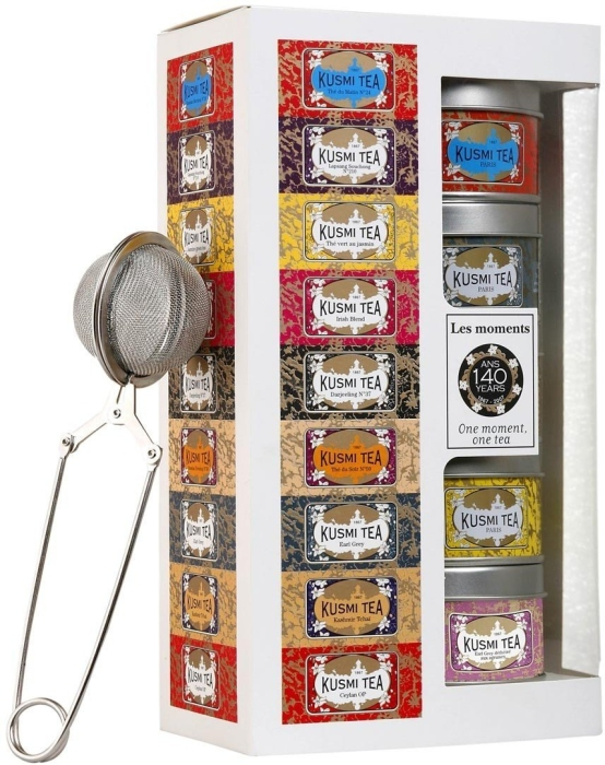 Kusmi Tea Moment gift pack with infuser 5x25g