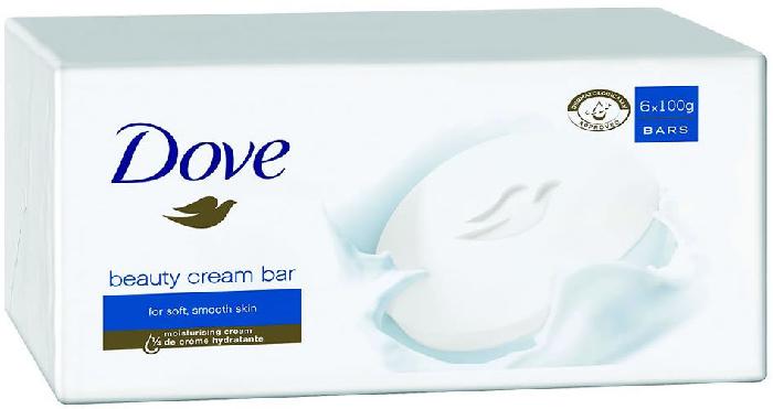 Dove Bar Cream 6 x 100g