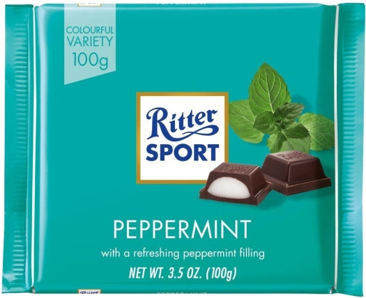 Rittersport Peppermint 100g