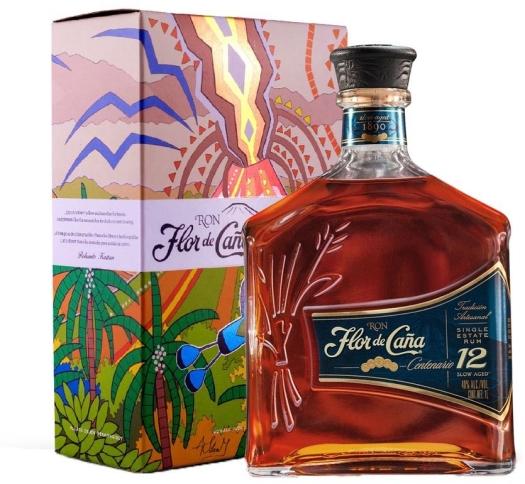 Flor de Cana Centenario 12YO 1L