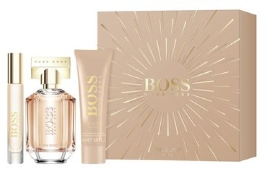 Boss The Scent For Her Set EdP 50ml + 50ml + 7.4ml