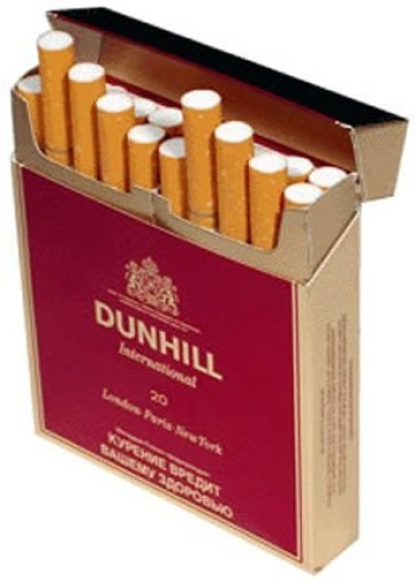 DUNHILL International Red Pack