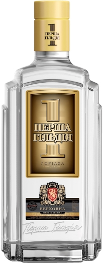 Premium Ukrainian vodka First Guild Verhovna 0.7L