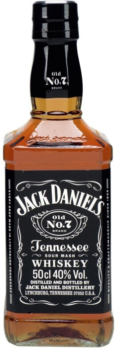 Jack Daniel's Black Label 0.5L