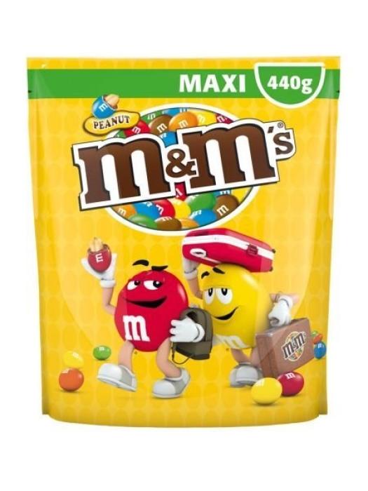 M&M's Maxi pouch peanut 440g