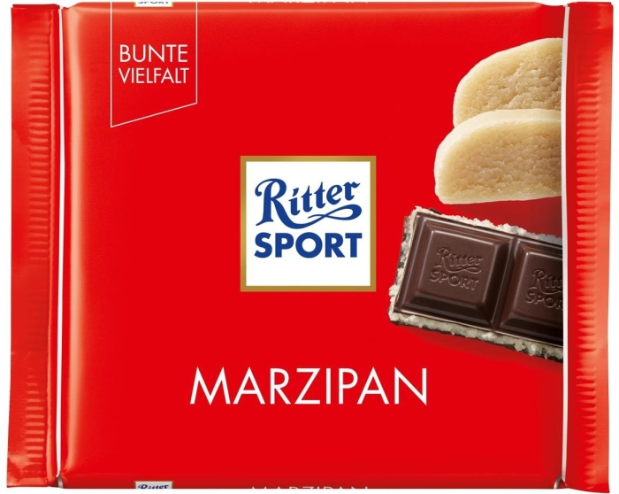 Ritter Sport Sport Marzipan 100g