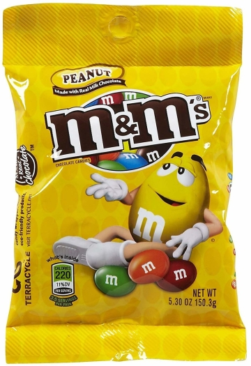 M&M's Peanut Peg 150g