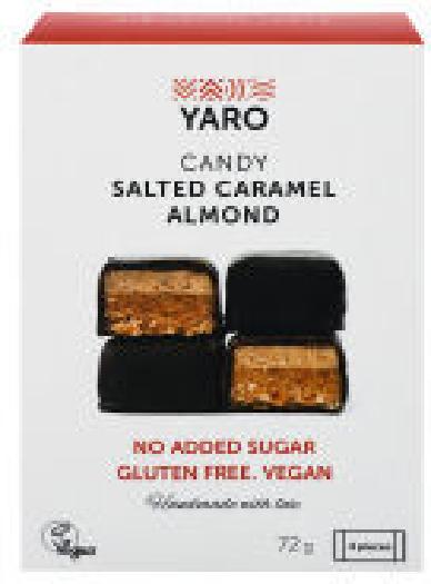 Yaro Set SaltCaramel Almon 72g