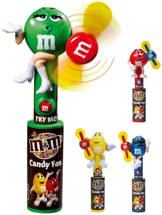 M&M's Choco Candy Fan 20g