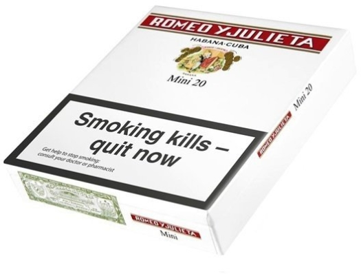 Romeo y Julieta Mini 5x20s Cigars Carton