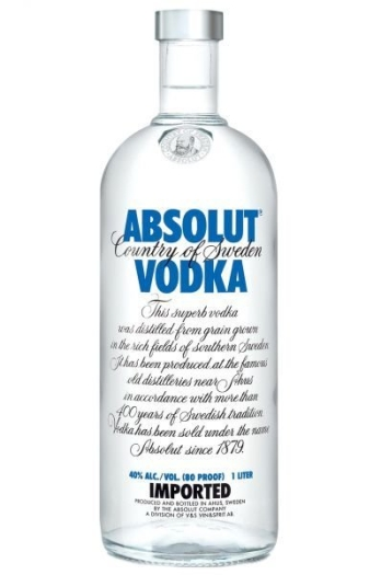 Absolut Blue 1L