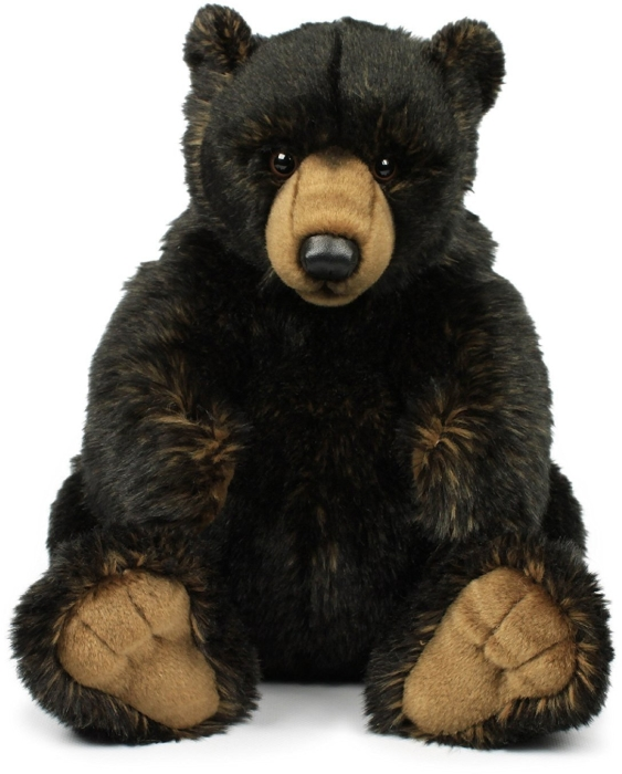 WWF Plush Collection Black Grizzly 32cm