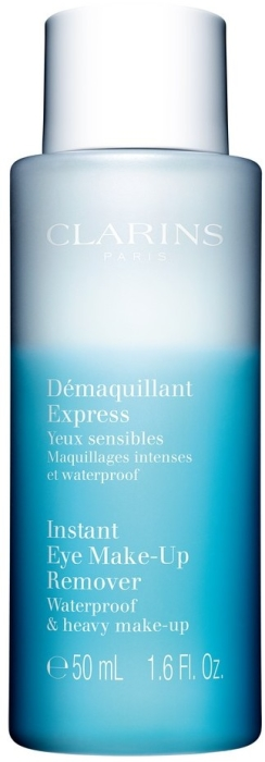 Clarins Cleansing Instant Eye Make-Up Remover Bi Phased Lotion 125ml