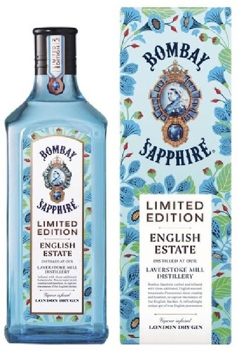 Bombay Sapphire Gin English Estate 41% GP 1L