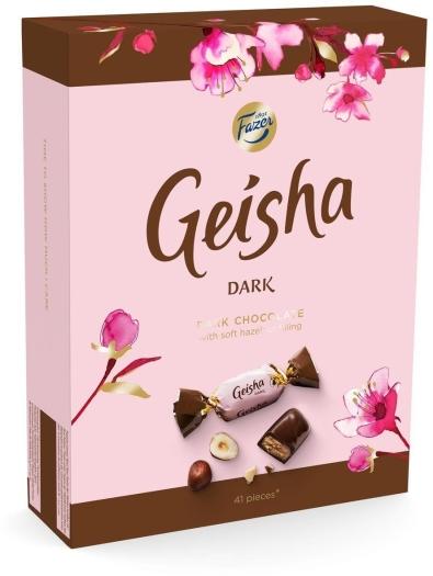 Fazer Geisha Dark 295g