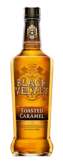 Black Velvet Toasted Caramel Whiskey 1L