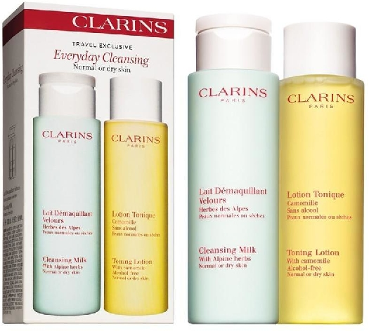 Clarins Everyday Cleansing Travel Set 200ml+200ml