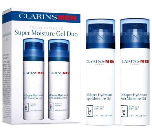 Clarins Super Moisture Gel Duo Set 2x50ml