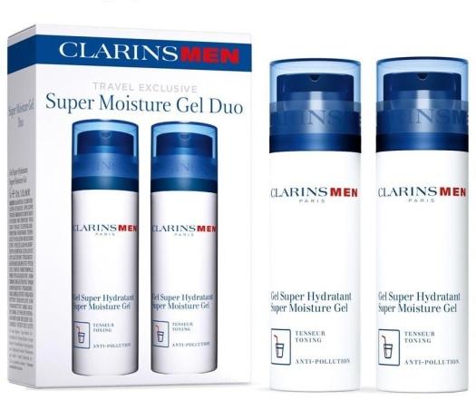 Clarins Super Moisture Gel Duo Set 2x50ml