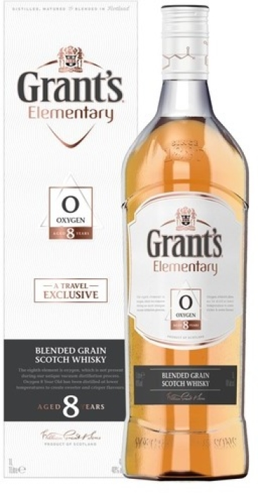 Grant's Elementary Oxygen 8yo 40% Giftbox 1L