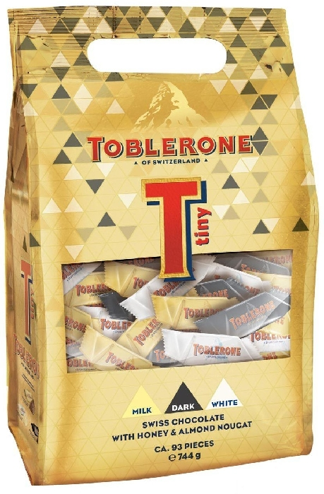 Toblerone Tiny Bag Gold 272g