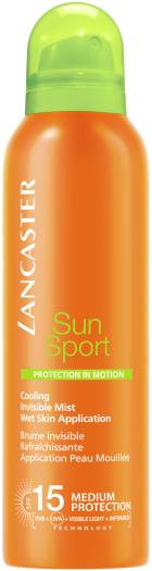 Lancaster Sun Sport Invisible Mist Wet Skin Sublime Tan SPF15 200ml