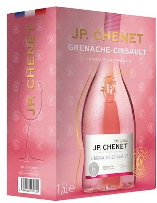 JP. Chenet Cinsault-Grenache Rose BiB 1.5L