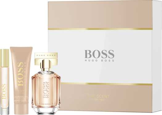 Boss The Scent For Her Set 50ml + 50ml + 7,4ml