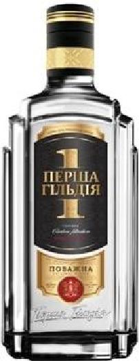 Premium Ukrainian vodka First Guild Povazhna 0.7L