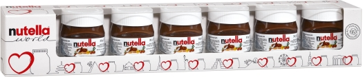 Nutella World Weekly Pack 7x30g