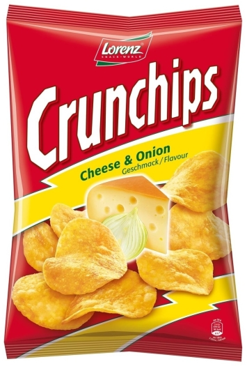 Bahlsen Crunchips Cheese&Onion 100g