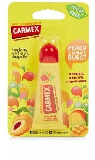 Carmex Lip Balm Peach&Mango Tube 10g