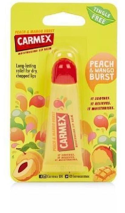 Carmex Lip Balm Peach&Mango Tube 10g