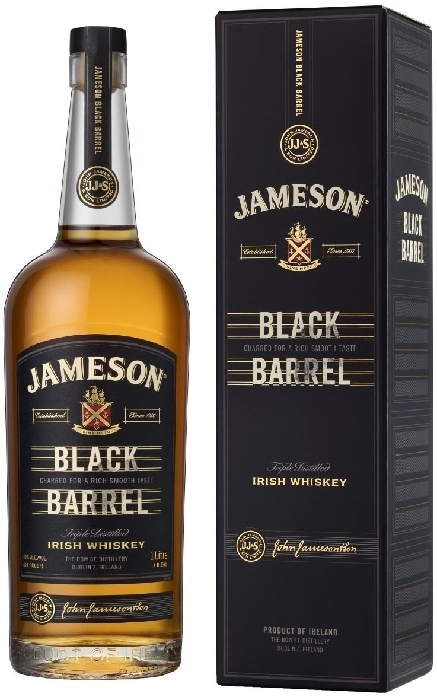 Jameson Black Barrel 40% Giftpack 1L