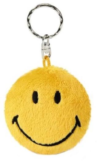 Nici 2D Yellow Smiley Plush 18.1g