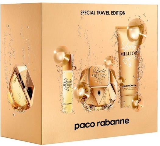 Paco Rabanne Lady Million Travel Set